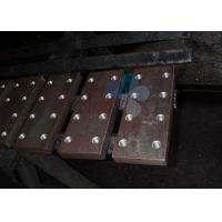 China Q235A Elevator Guide Rail For Machined Elevator , Cold Drawn Guide Rails on sale