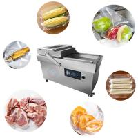 China Durable 304 Stainless Steel Vacuum Packing Machine Double Chamber on sale