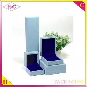 China Luxury pu leather jewelry gift box on sale