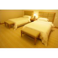 100% Polypropylene Modern Loop Cut Pile Area Rugs For Hotel With Hand Carved Manufactures