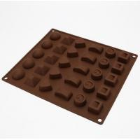 Multi Style Candy Making Molds , Mini Chocolate Molds 3d Christmas Easy Storage for sale