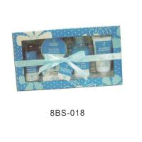 China Natural Bath And Body Gift Set With 150g Crystal Bath Salt #8BS-018 on sale