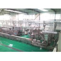 China Raw Fresh Milk Processing Machine Turn Key Pasteurized With Plastic Bag on sale
