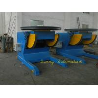 Heavy Duty Pipe Turning Positioners 15Ton Capacity , 5.5KW UK Motor For Rotation Manufactures