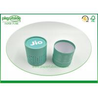 Rigid Cardboard Tube Boxes Colorful Printed Stamping Logo High End Durable Manufactures