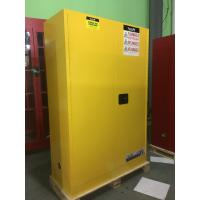 Durable Metal Flammable Liquid Storage Containers 45 GAL With Double Layer Manufactures