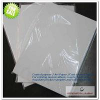 China Coated Paper ,Art Paper ,Cast-coated Paper on sale