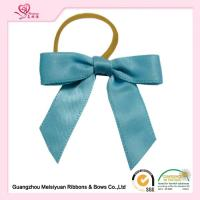 Single Side Ribbon Elastic Ribbon Bows customized Size For Wine Packaging Manufactures