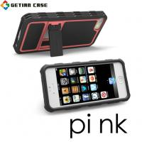 New Design PC + TPU Cell Phone Covers with Stand, Hard Case Cover for Iphone 5 Manufactures