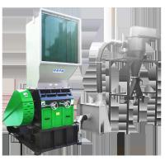 CE Certificate Plastic Bottle Crusher Machine 500 Kg / H Low Electricity Consumption Manufactures