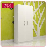 Small Size Bedroom Wardrobe Closet Sliding Opening Simple Modern Style For Storage Clothes Manufactures