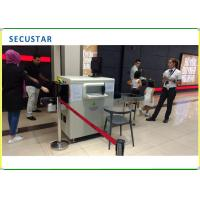 Single Energy X Ray Baggage Checking Machine For Sports Center / Big Hotels Manufactures