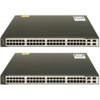 Quality 100Mbps Fast Network Switch Layer 3 Core Switch WS-C3750V2-48TS-E for sale