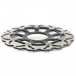 High Strength Custom Motorcycle Brake Rotors For Racing Bike Parts Manufactures