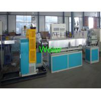 SJ-120 Transparent PVC Plastic Pipe Extrusion Machine / Machinery For Gas And Liquid Pipe Manufactures