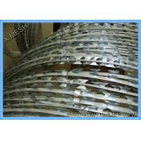 Security Protected Concertina Razor Wire Fence Bto-22 With Clips Manufactures