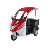 35-50km Electric Passenger Tricycle 60V 32Ah Lead Acid Battery 800W Motor Manufactures