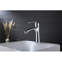 China Easy Installation Vanity Sink Faucets Chrome Plated Finish with Adjustable Accessories on sale