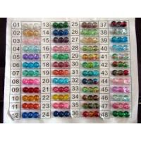 Fashion Crackled Glass Beads Manufactures