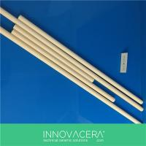 China C799 Alumina Ceramic Round Single Bore Tubes/INNOVACERA on sale