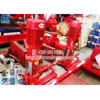 Vertical Multistage Contrifugal Jockey Pump Set With Control Panel For Fire Pump Set Manufactures