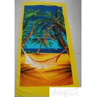 China Beach Pool Promotional Microfiber Cleaning Cloth Bath Wrap Super Soft And Absorbent on sale