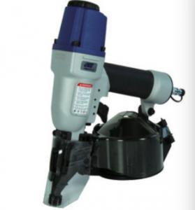 Pneumatic coil nailer gun ,Air coil nail brad stapler, CN50, 25.8CM*10.8CM ,Silver, Aluminum, lightweight Manufactures