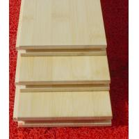China FSC green horizontal bamboo flooring with no color difference on sale