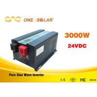 Off grid single phase dc to ac 24v 110v 3000watt pure sine wave power inverter Manufactures