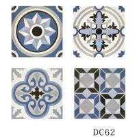 China Indoor Decorative Ceramic Bathroom Floor Tile Anti Bacterial Wear Resistant on sale