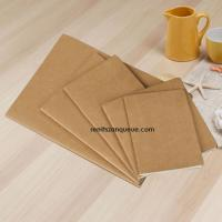 Factory directly sale drawing pad paper recycled kraft cover notebook Manufactures