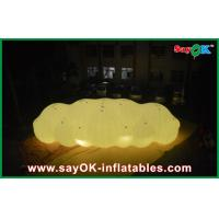 China Big LED Decoration Inflatable Helium Cloud Balloon 0.18mm PVC Material For Advertising on sale