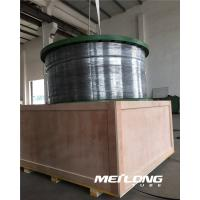 Buy cheap ASTM B704 N08825 Incoloy Alloy 825 seamless coiled tubing hydraulic control line from wholesalers