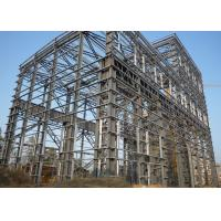 Large Span Heavy Architectural Structural Steel Portal Frame With Bridge Crane Manufactures