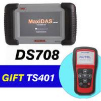 China Autel MaxiDAS DS708 Get MaxiTPMS TS401 As Gift for Car Diagnostics Scanner on sale