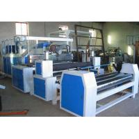 Full Automatic Plastic Sheet Making Machine / PE Winding Film Equipment Manufactures