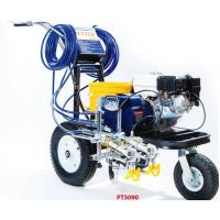 China Petrol Engined Road Line Marking Machine 4.0L/Min Delivery Rate on sale