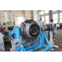 Stainless Steel PE Plastic Pipe Extrusion Machine Plastic Extruders Of Two Layers Manufactures