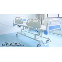 China Portable Adjustable Patient Room Nursing Medical Electric Motorised Hospital Bed Manufacturer for sale