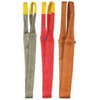Double Ear Anti - Corrosion Crane Components Flat Surface Polyester Sling For Lifting Manufactures