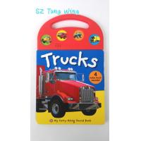 Custom Mold Toy Trucks Baby Sound Books for Indoor Kid