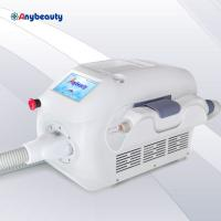 China pure white mini q switched nd yag laser tattoo removal laser beauty machine with 1064nm 532nm and 1320nm on sale