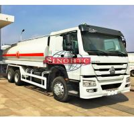 6X4 Stainless Steel Fuel Transport Trucks, 20000 - 25000 Liter Gasoline Tanker Truck Manufactures