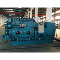 500 KW Air Starting Marine Diesel Generator With Automatic Control Box Manufactures