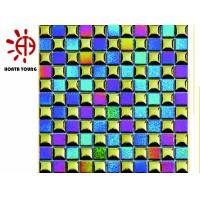 HTY - TRB 300  Bright Color Metal Stainless Steel Mosaic Tile Foshan Coating Factory Manufactures
