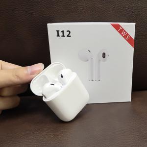 i12 TWS Mini Air pod Bluetooth 5.0 Earphone Sports Sweatproof True Wireless Touch Earbuds Ear pod Binaural call Earphone Manufactures