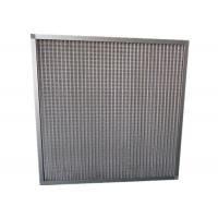 MERV 11 Household Portable Mesh Panel Air Filter Pre Filter With Aluminum Frame Manufactures