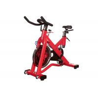 Indoor Exercise Gym Spin Bike , Commercial Cardio Spinning Exercise Machine Manufactures