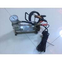 Quality Metal Car Air Pump Compressor Single Cylinder For All Kinds Of Cars With Gauge for sale