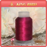 DMC Dyed Machine Embroidery Thread Red Polyester For Decorative Manufactures